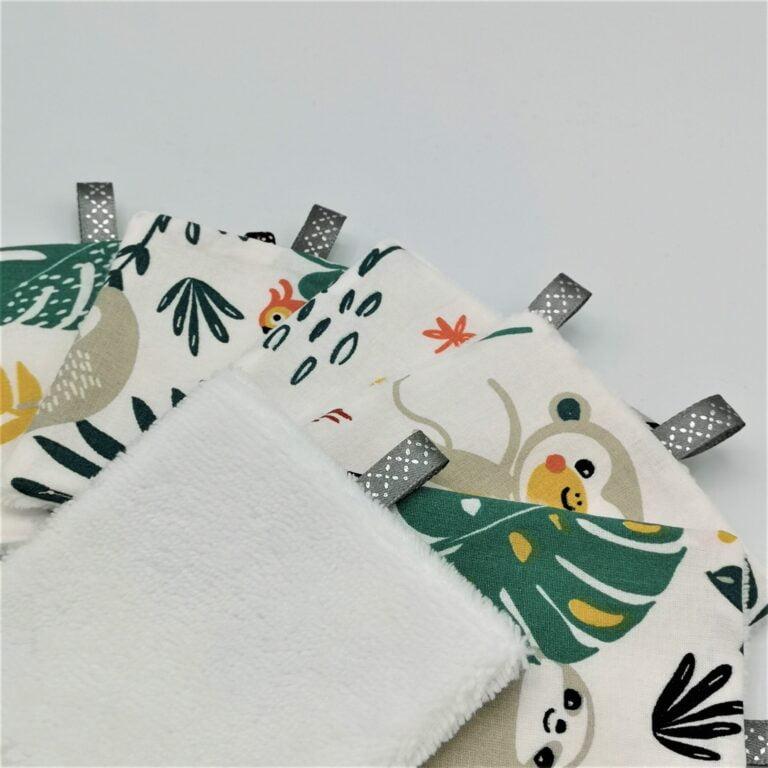 Lingettes jungle blanc