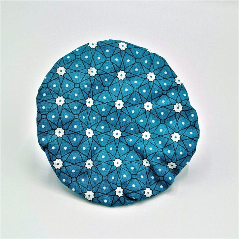 Charlotte S étoiles pois fond bleu
