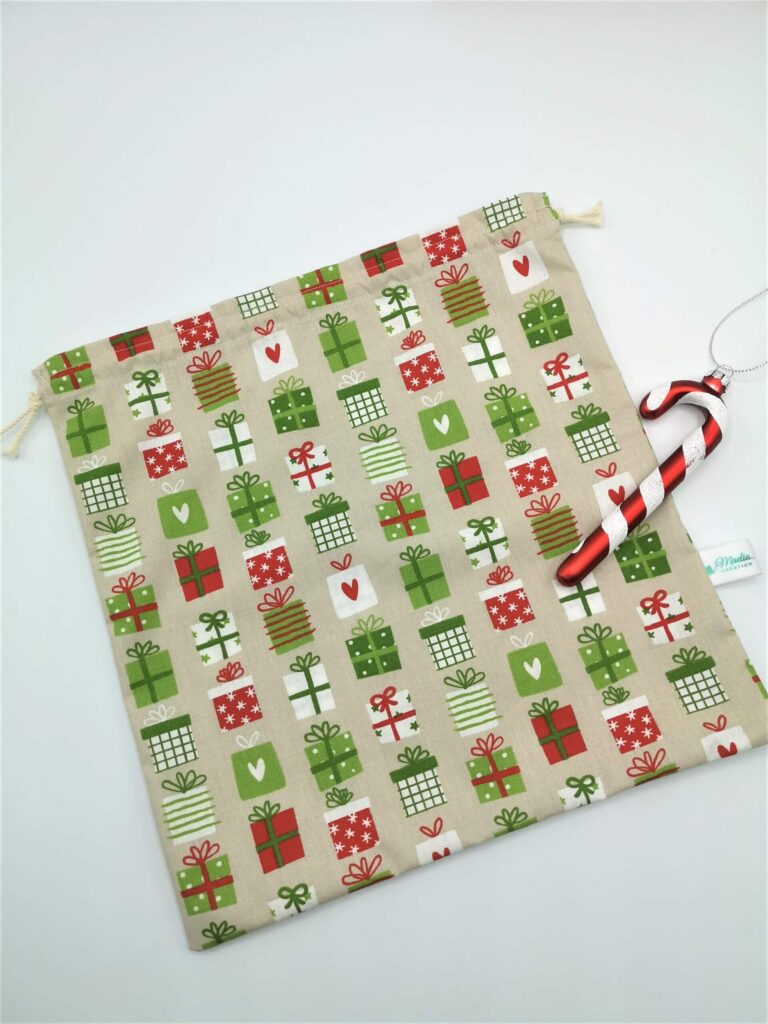 Pochon cadeau Noël